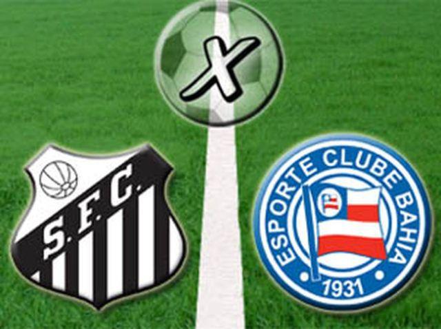 Santos escalado para o jogo contra o Bahia.