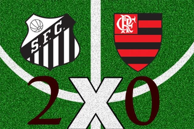 Em jogo sofrivel, Santos bate o Flamengo no final !