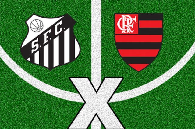 Jogando sob pressão, Santos e Flamengo fazem duelo nesta quarta-feira !