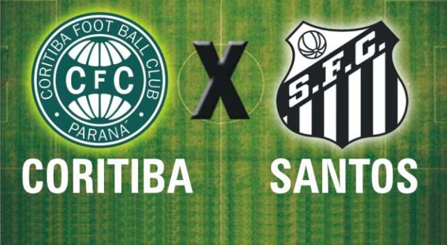 O Santos enfrenta o Coritiba neste domingo, as 16:00 Hs. no Couto Pereira !