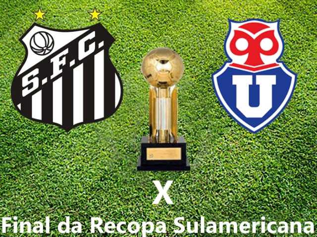 Chegou a hora !  Santos x La U  pela Final da Recopa !