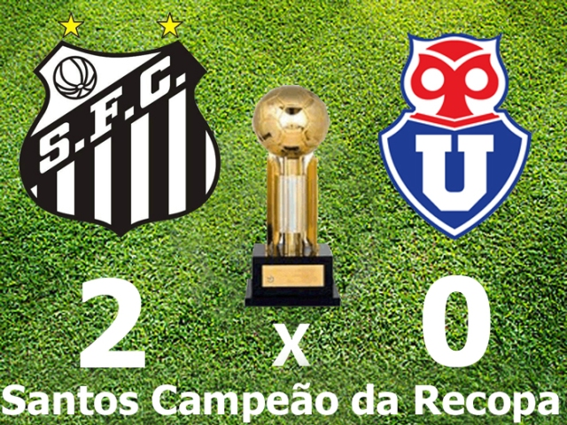 Santos F.C., Campeão da  Recopa Sulamericana !