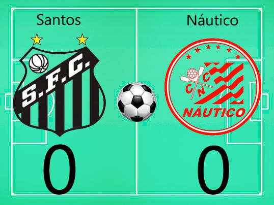 Santos e Náutico não saem do 0 x 0  na Vila !
