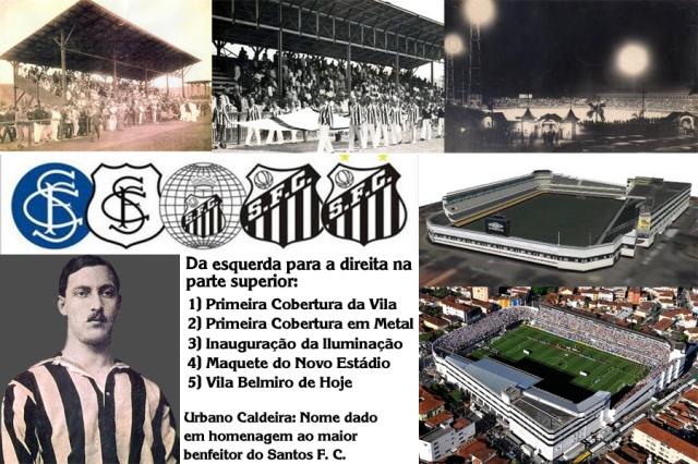 Parabéns aos 96 anos de vida do Estádio da Vila Belmiro !