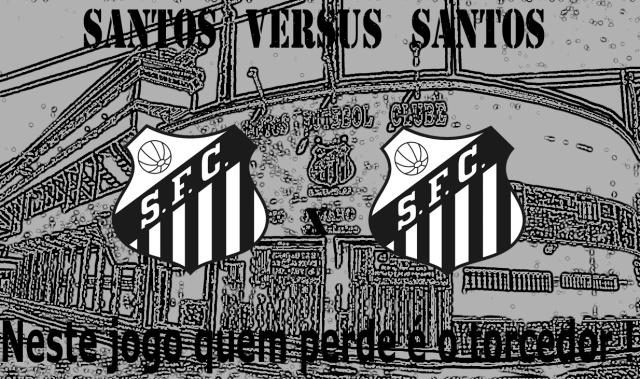 O maior adversário do Santos, é o próprio Santos !