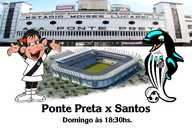 Ponte Preta recebe o Santos no Estádio Moises Lucarelli !