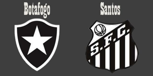 Botafogo e Santos, se enfrentam nesta quarta-feira !