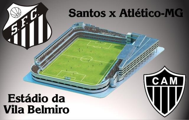Santos F.C. x Atlético-MG se enfrentam na Vila !