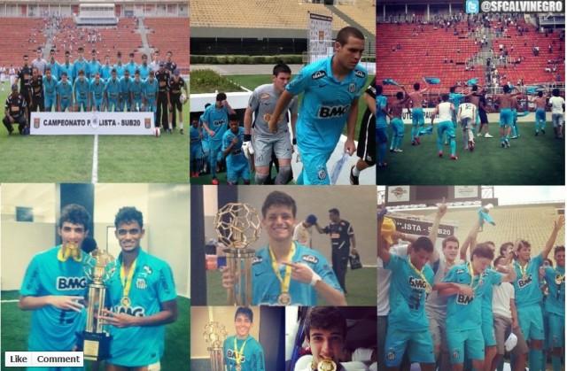 Parabés aos Campeões paulista da Sub-20 !