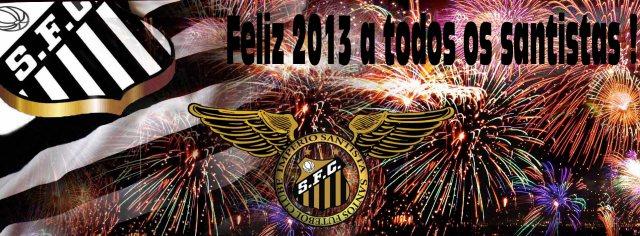 Feliz 2013 a todos os santistas !