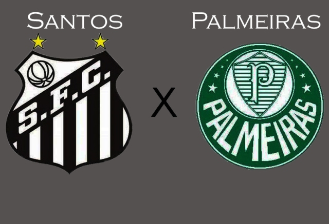 Santos e Palmeiras na Vila !