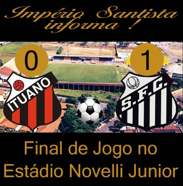 Santos vence o Ituano pelo Paulistão !