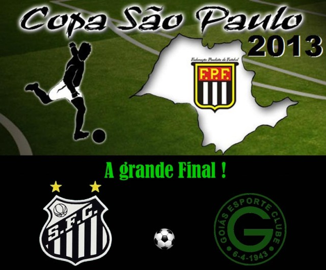 Santos e Goiás fazem a final da Copinha !