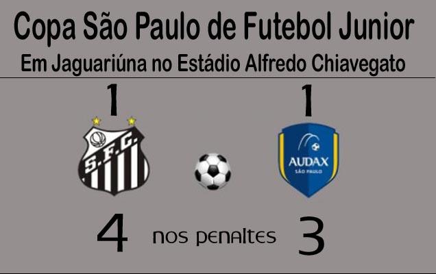 O Peixinho está nas Semi-Finais da Copa São Paulo de Futebol Juniors!