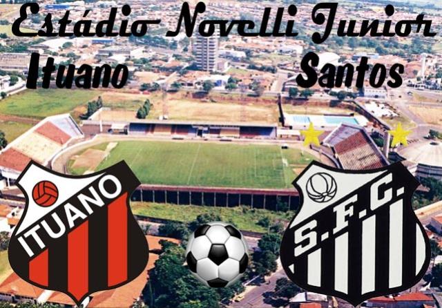 Ituano e Santos em Itú !