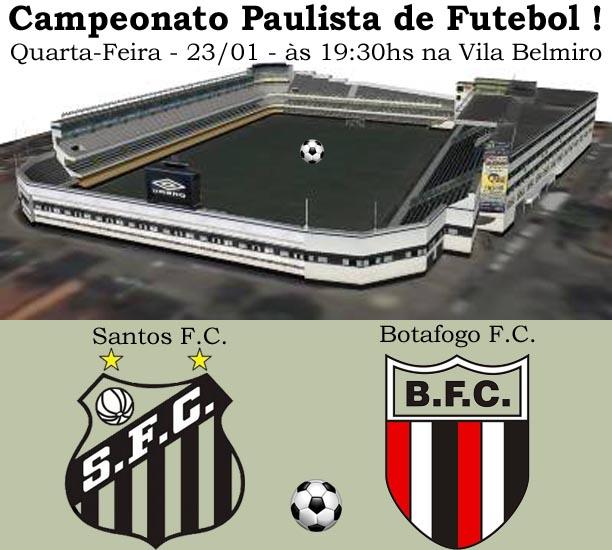 Santos enfrenta o Botafogo na Vila !