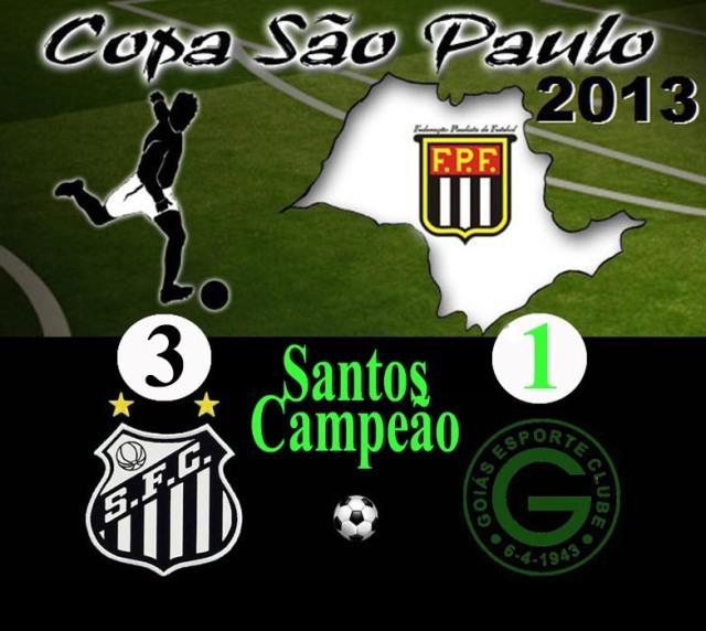 Santos é Campeão da Copinha !