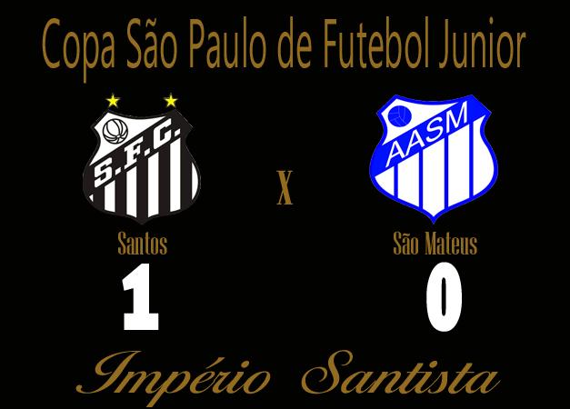 Santos vence o São Matheus na copinha !