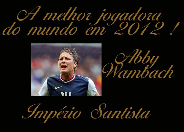 A melhor jogadora do mundo em 2012