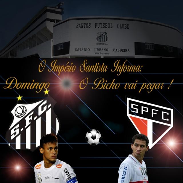 Santo recebe o São Paulo na Vila !