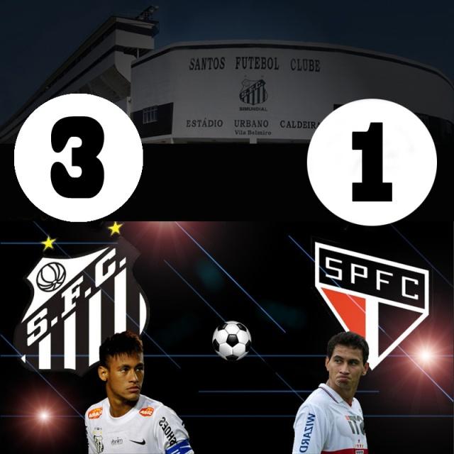 Santos vence e convence na Vila Belmiro !