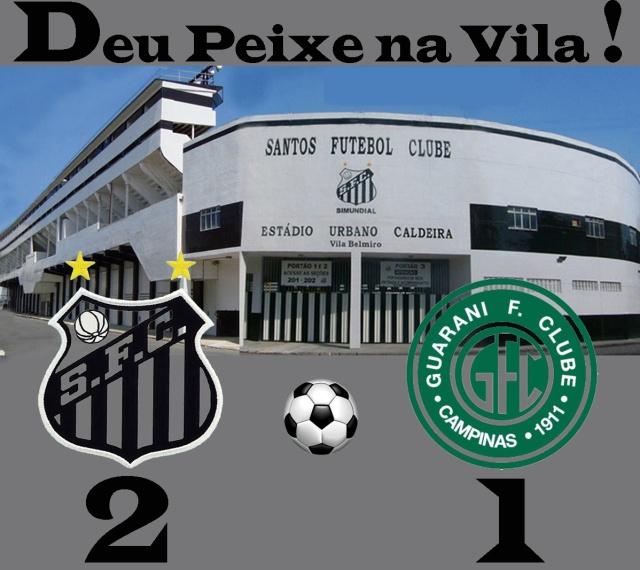 Deu Santos na Vila Belmiro !