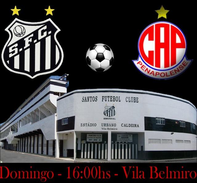 O Santos recebe o Penapolense na Vila !