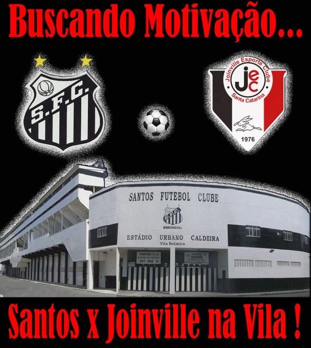 O Santos recebe o Joinville, pela Copa do Brasil !