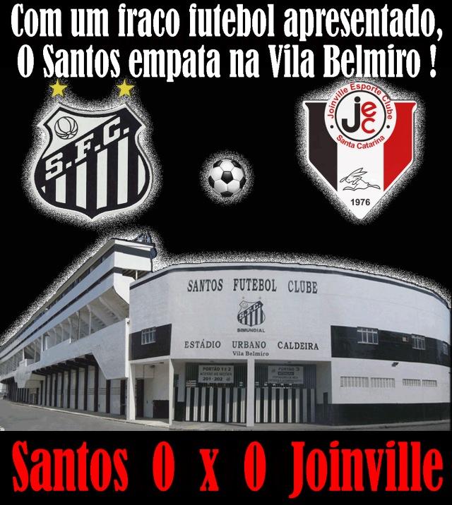 O Santos empata na Vila, e avança na Copa do Brasil !
