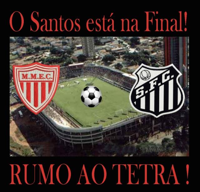 O Peixe está na Final do Campeonato Paulista 2013 !