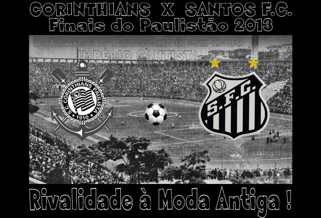 Como nos velhos tempos, Santos e Corinthians acirram a rivalidade !