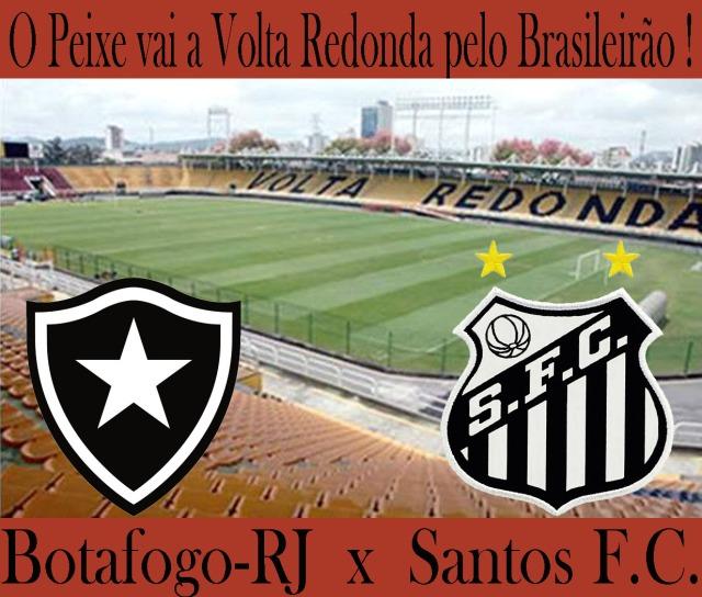 O Santos enfrenta o Botafogo, em Volta Redonda.