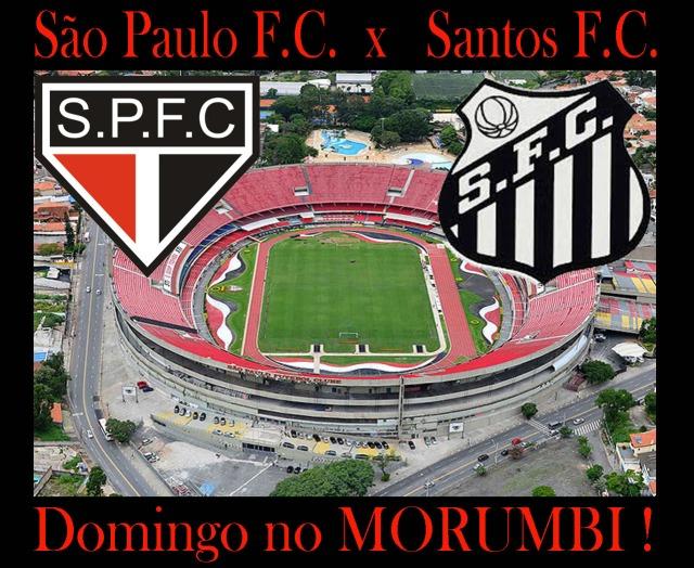 O Santos visíta o São Paulo pela sexta rodada do Campeonato Brasileiro de 2013 !
