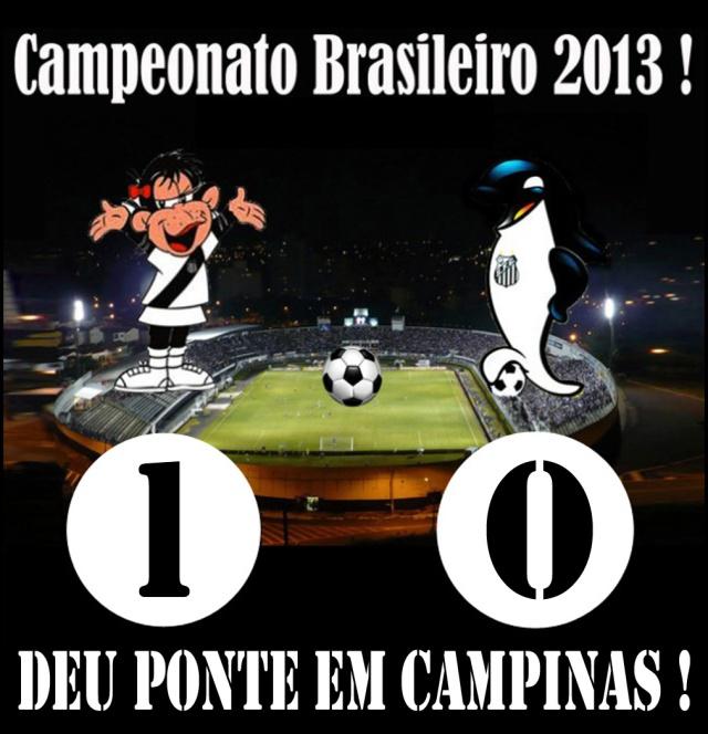 O Santos perde em Campinas !