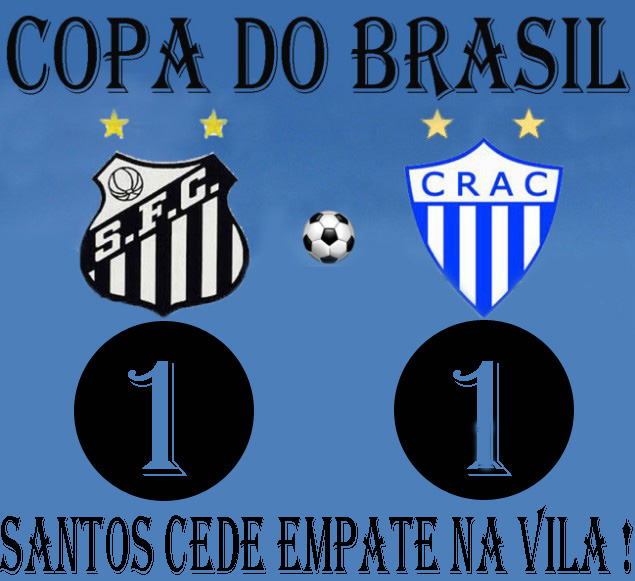 Santos empata e se complica na Vila !