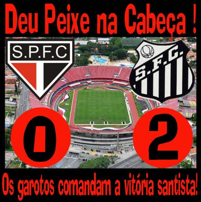 O Santos bate o Tricolor em pleno Estádio do Morumbi !