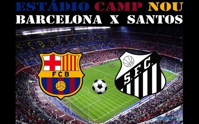 O Santos visíta o Barcelona nesta sexta-feira !