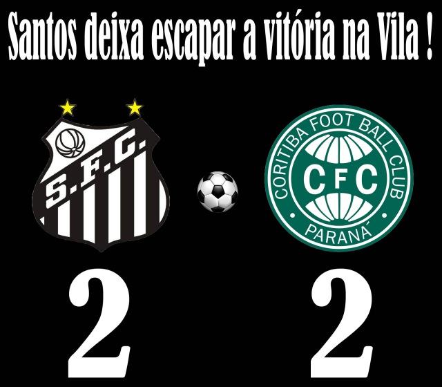 Santos cede o empate na Vila !
