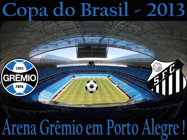 O Santos vai a Porto Alegre atráz da vaga !