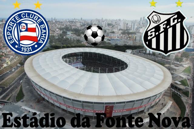 O Santos vai à Fonte Nova para encarar o Bahia !