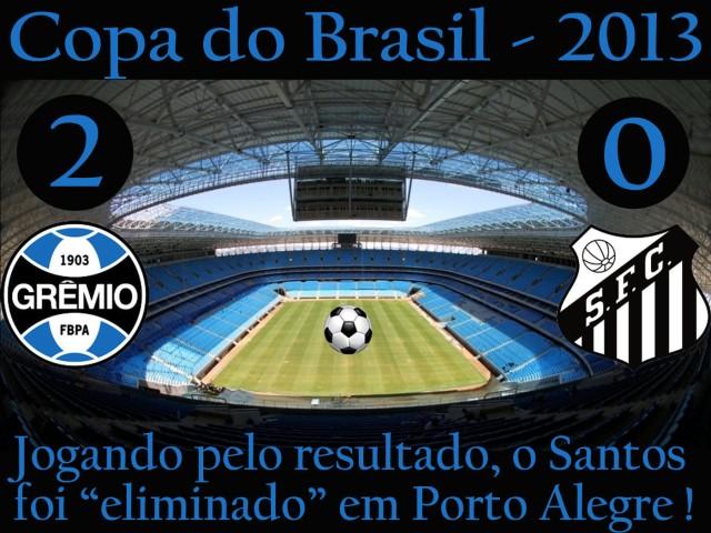 O Santos é eliminado na Arena Grêmio !