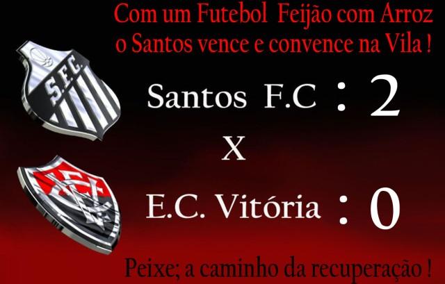 Futebol Feijão com Arroz, leva o Santos à vitória !