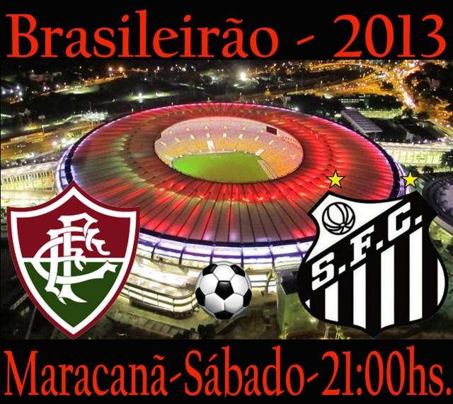 O Peixe encara o Fluminense no Maracanã !