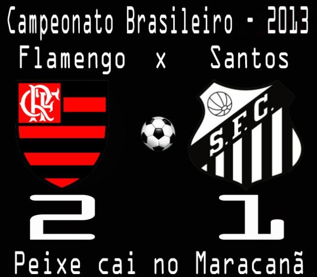 Santos cai  no Flamengo no Maracanã !