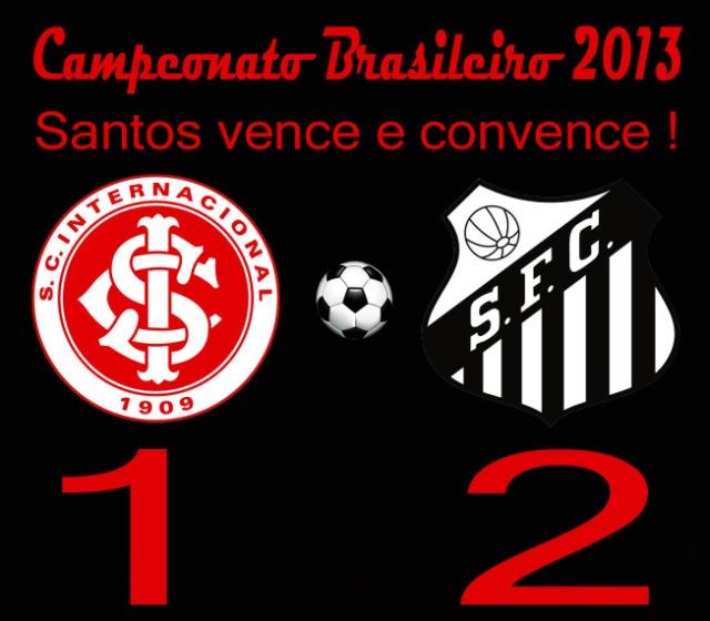 Em noite inspiradíssima do técnico Claudinei, o Santos vence e convence !