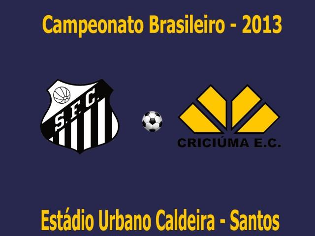O Santos recebe o Criciúma neste Domingo !