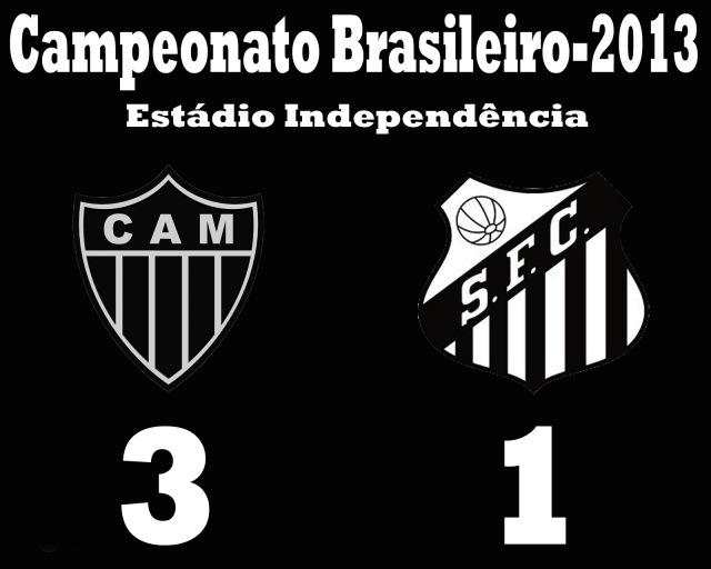 O Santos perde em Minas !