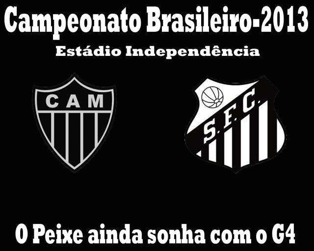 O Santos vai à Minas encarar o Atletico-MG !