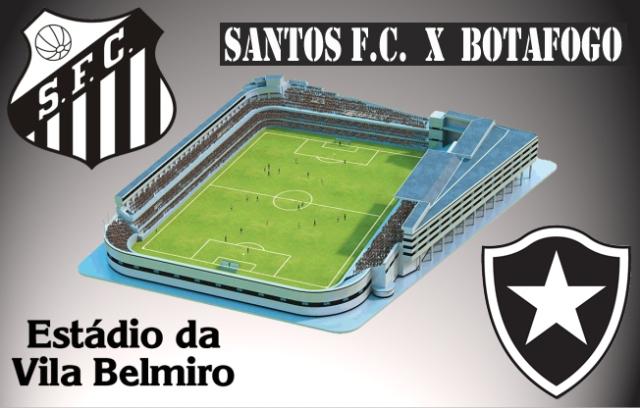 O Santos recebe o Botafogo-RJ na Vila !
