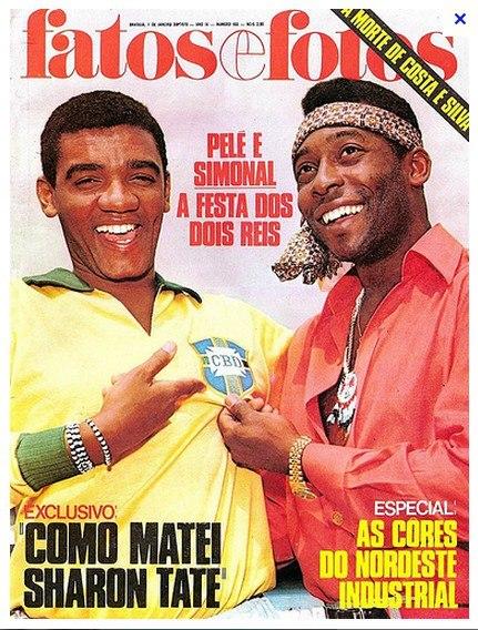 Pelé e Simonal